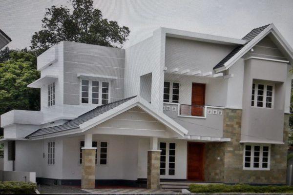 Newly constructed villa at Kakkanad